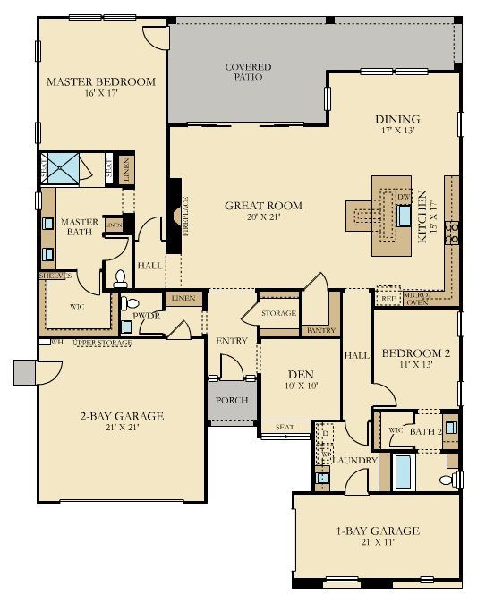 36 Best Lennar Floorplans Single Story Images On