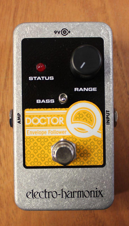 Electro Harmonix Nano Doctor Q Envelope Filter Guitar Effects Pedal Guitar Effects Guitar Effects Pedals Effects Pedals