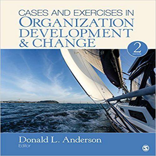 Organization Development And Change Pdf