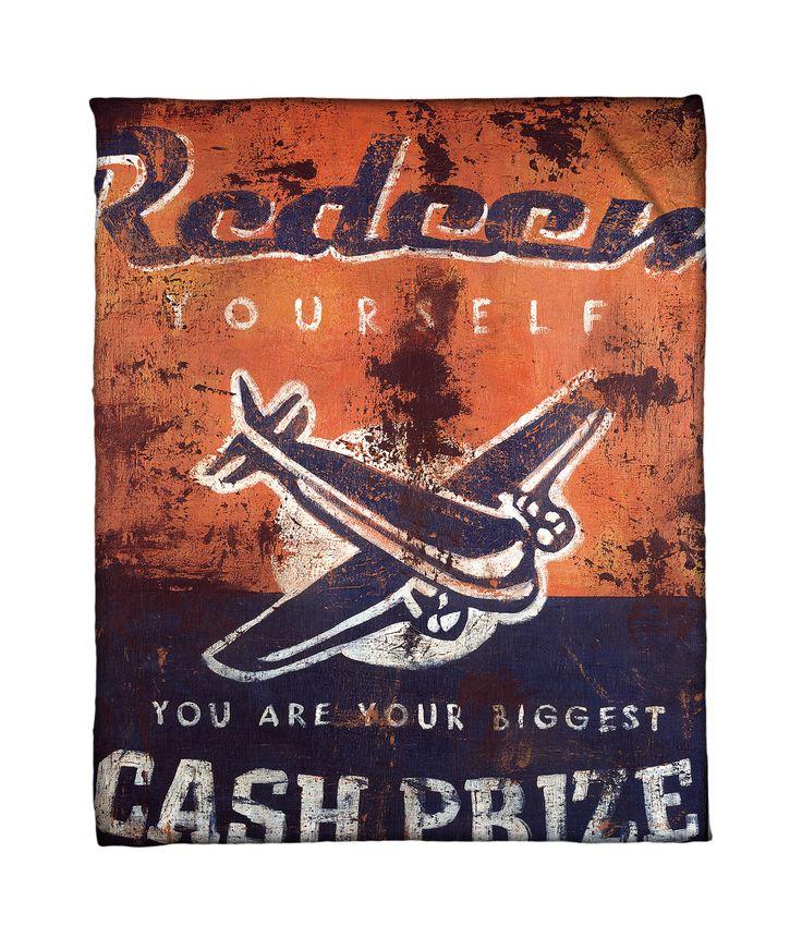 """""""Biggest Cash Prize"""" Fleece Throw"""