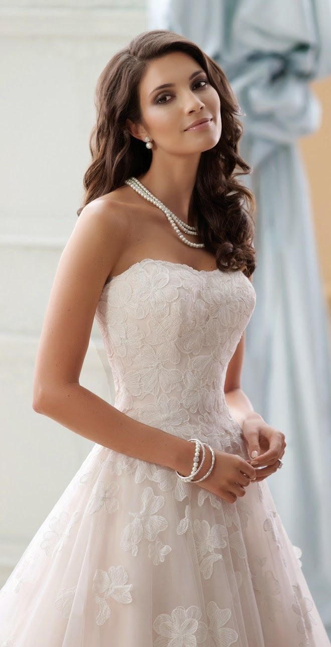 David Tutera for Mon Cheri Spring 2015 Bridal Collection - Belle The Magazine
