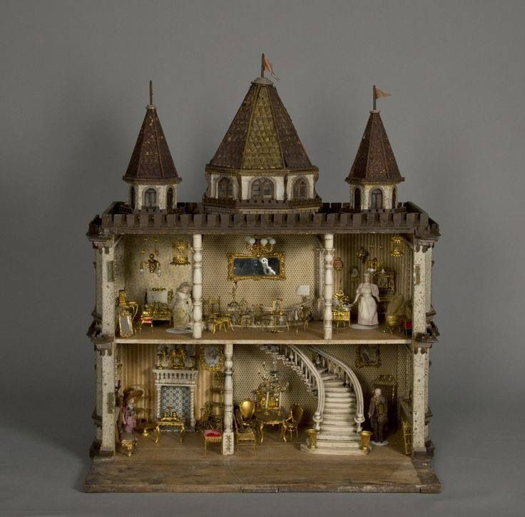 1000 Images About Doll Houses Miniatures Elegant On