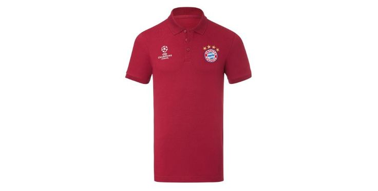 Fan of the German football team Bayern München? Enjoy 25% discount on the Champions League collection now!