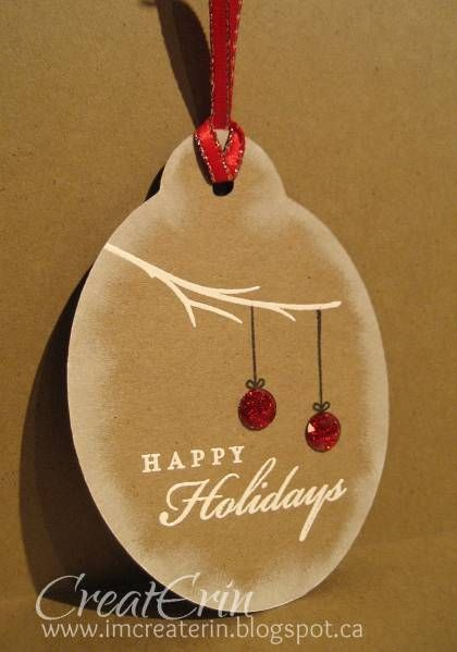 Christmas tags! by cards4meagain - Cards and Paper Crafts at Splitcoaststampers