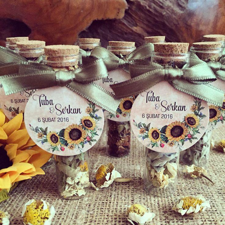 Kış çayı düğün hediyesi / Winter tea wedding gift www.masalsiatolye.com #kışçayı #wintertea