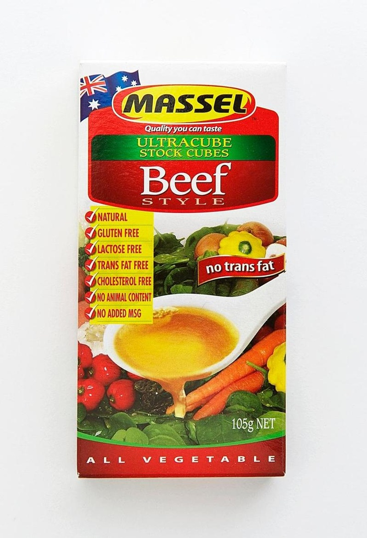 MASSEL ONLY stock cubes. Kitchen pantry essential.