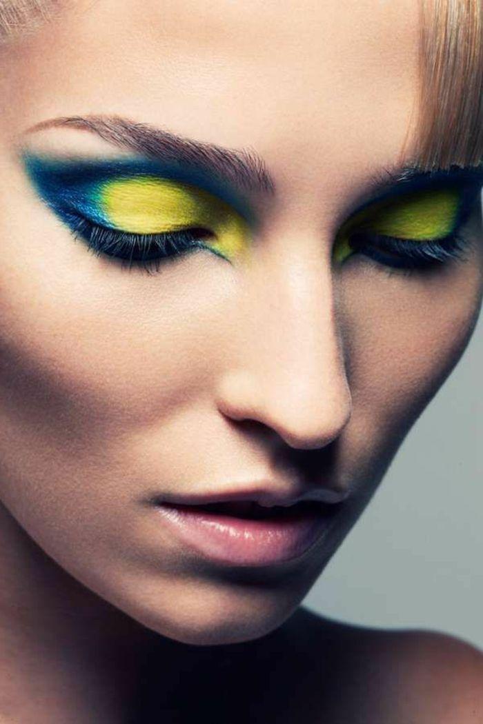 Extrêmement Les 25 meilleures idées de la catégorie Artiste maquillage  BE93