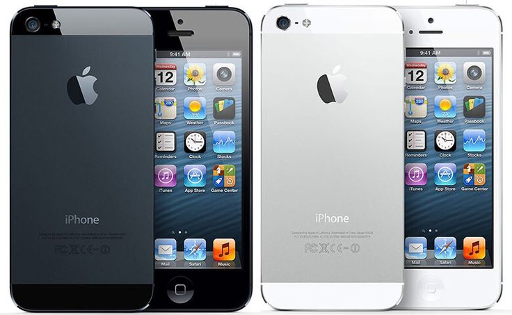 iPhone 5 First released : Sept. 21, 2012