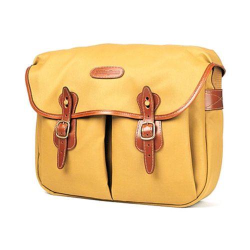 [Billingham] Hadley Large Khaki FibreNyte Tan Leather DSLR Camera Shoulder Bag