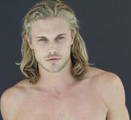 Blond Blue-eyed Guy Gets
