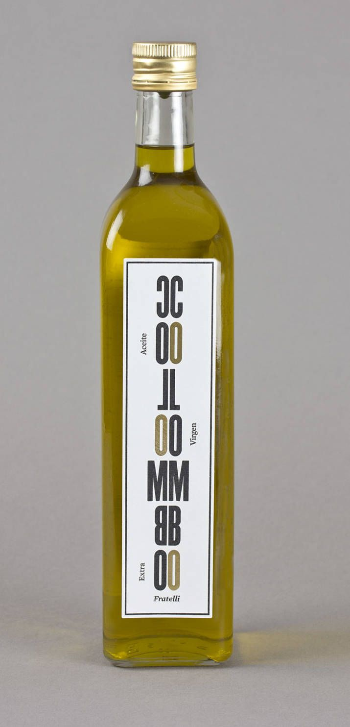 COLOMBO Olive oil (Packaging) by Lo Siento Studio, Barcelona