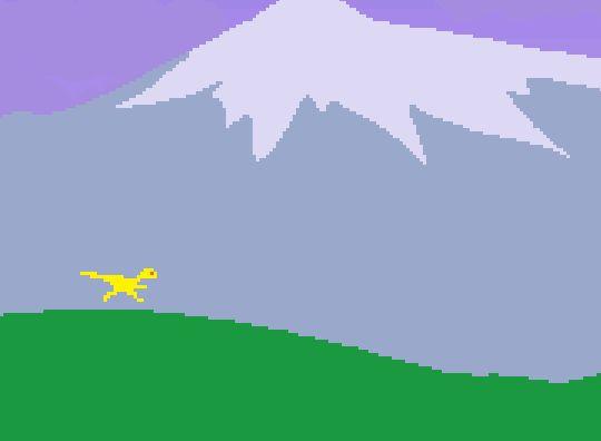 Procedural Generation — Dino Run SE (2011) Escape the meteor-caused wave...