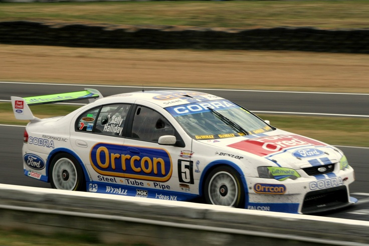 Retro liveries have been around for a while. Here's Ford Performance Racing (FPR) effort from 2007. Cobra anyone?    Photo by Craig Coomans ©. Feel free to share, simple ensure you credit the photo to me.