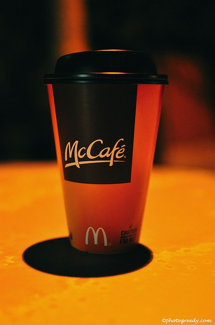 McDonald's Coffee is my favorite!