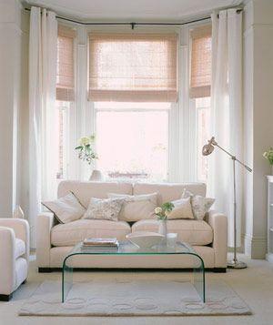 Best 25+ 3 window curtains ideas on Pinterest   Bay window ...