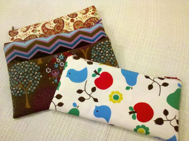 A few pencil cases. I sell these at markets and at www.madeitwgtn.co.nz.