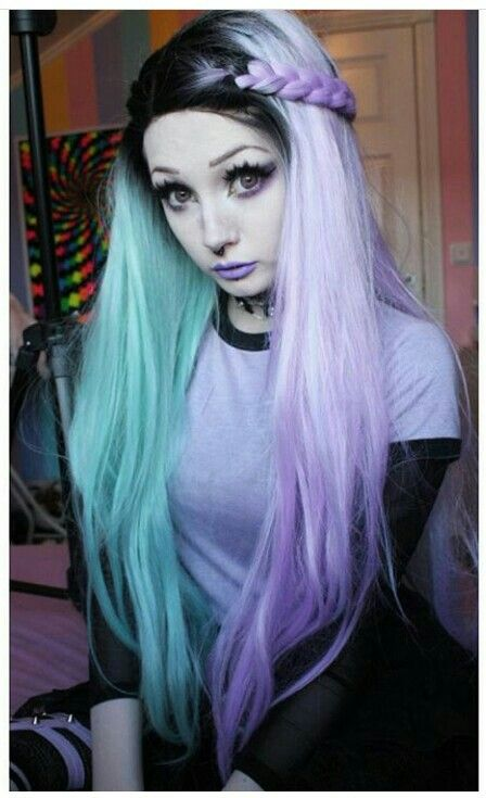pastel goth hair ideas