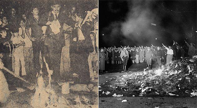 El triste aniversario de la quema de libros , Nación - Semana.com