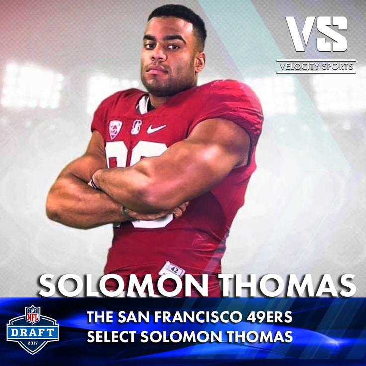 The San Francisco 49ers select Solomon Thomas .. .. .. .. #DraftDay #NFL #NFLdraft #NFLdraft2017 #football #sports #SanFrancisco #SanFrancisco49ers #49ers #velocitysports
