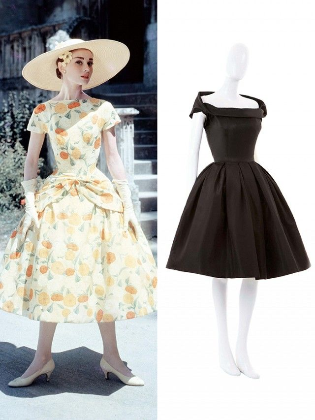 1950s Defining Silhouette: Dior's New Look Best For: Pear shapes or the very curvaceous  50s LBD is incredibly iconic and an extraordinary silhouette. It's a very full skirt, so it is literally Keep your hands off me—look, but don't touch.