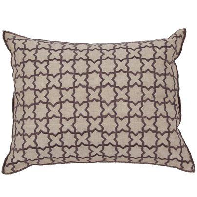 35x45cm Seville cushion AubergineSoften a strong colour contrast http://www.aurahome.com.au/