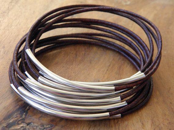 Bracelet semainier en cuir Bahia Del Sol  couleur par bahiadelsol
