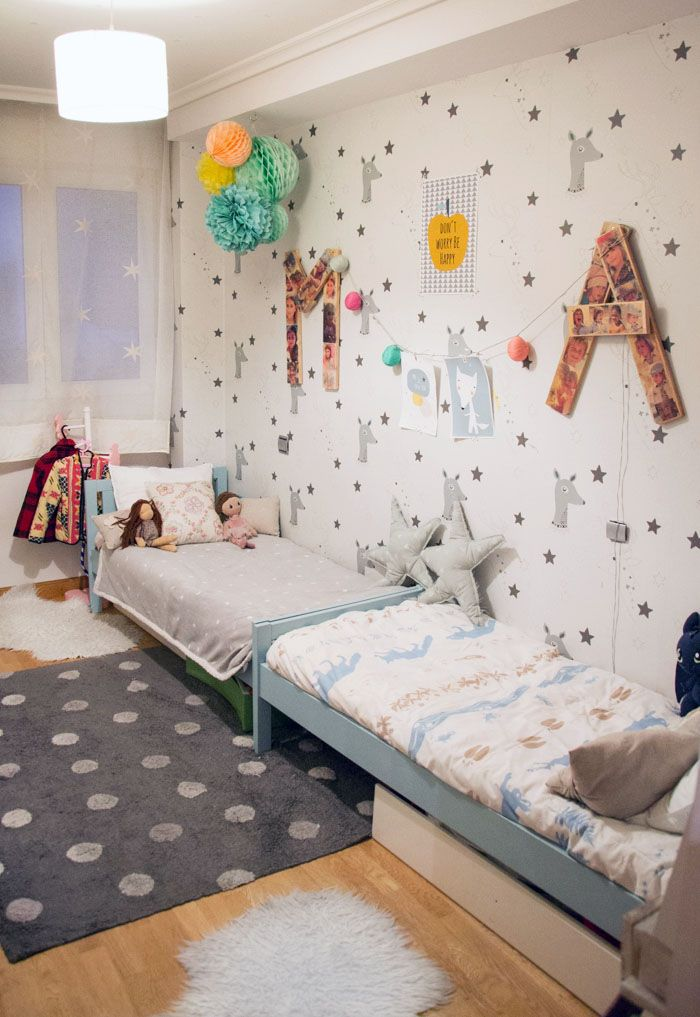 A Cozy And Perfectly Organized Room Design For Two Kids   Kidsomania ...