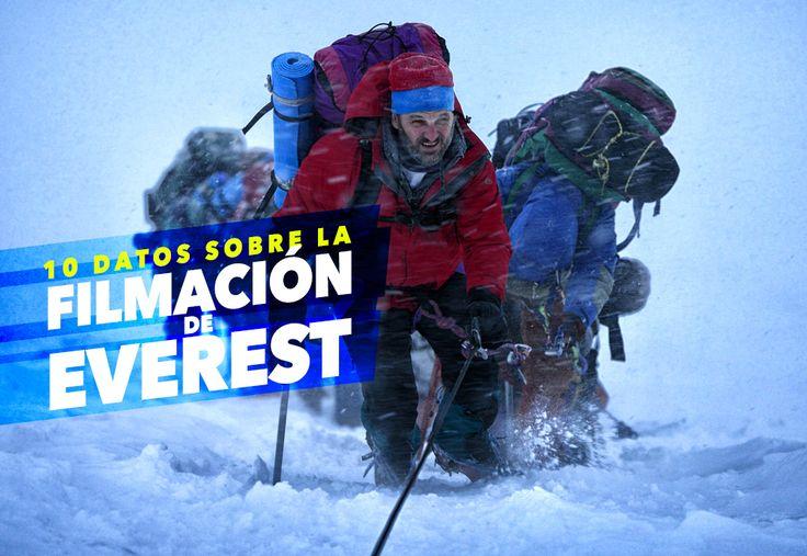 Cine PREMIERE | 10 datos sobre la filmación de Everest