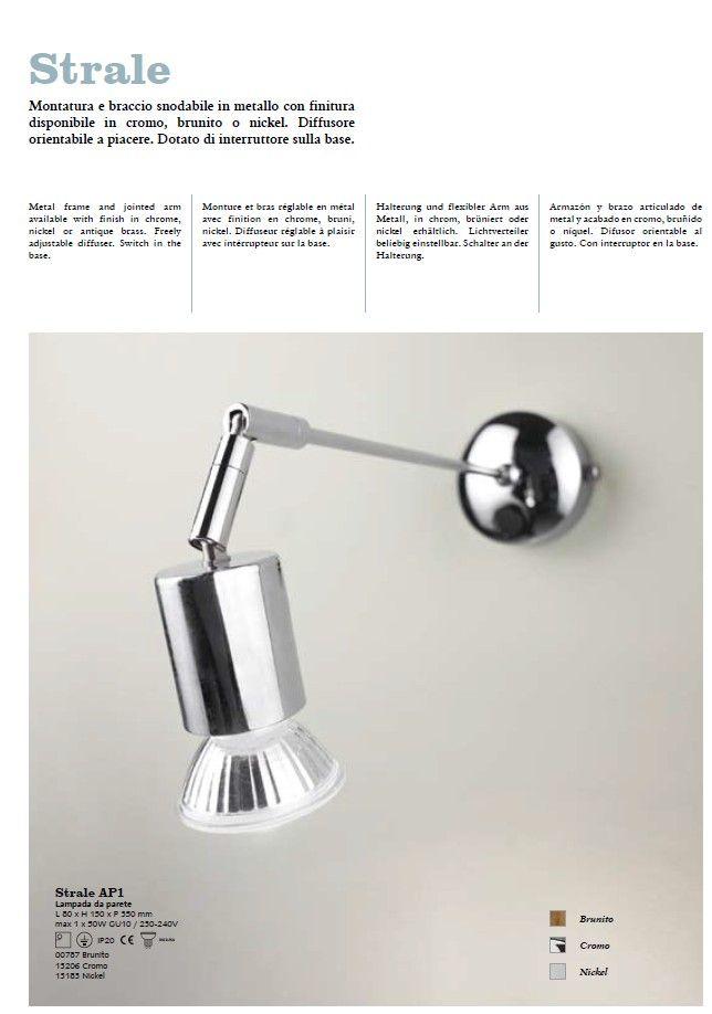 Aplica de perete flexibil Strale AP1 - Corpuri de iluminat, lustre, aplice