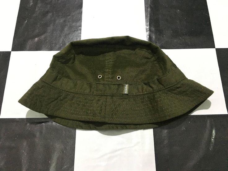 Vintage Supreme bucket hat olive green military gear usa by AlivevintageShop on Etsy