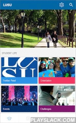 LUSU Orillia  Android App - playslack.com ,  LUSU Orillia is the official campus app for current LUSU Orillia students. Access your LUSU Orillia news, events, calendars, clubs, social media, maps and more. Stay organized with your classes and assignments through the timetable. Connect with the campus community through the campus feed.Features to help you with your student life + Classes - Manage your classes, create to-dos & reminders, and stay on top of assignments. + Study Tools - Keep…