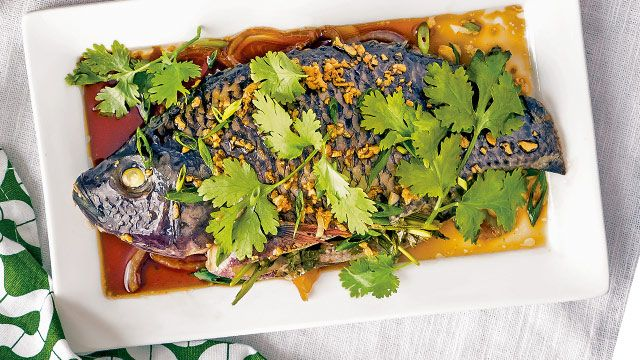 Chinese-Style Steamed Tilapia Recipe | Recipe | yummy.ph