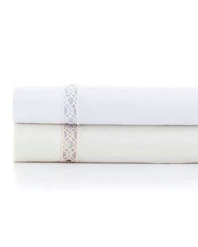 Two Standard Reticolo 500TC Pillowcases