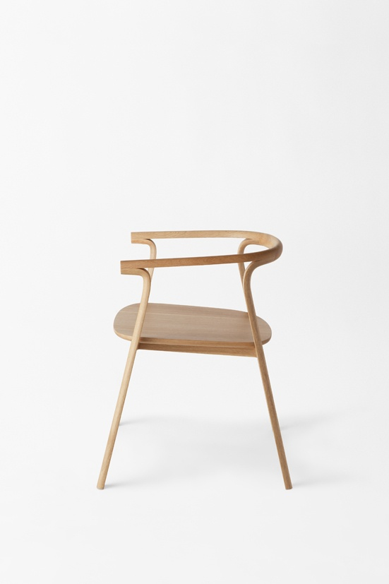 splinter armchair by Japanese studio Nendo