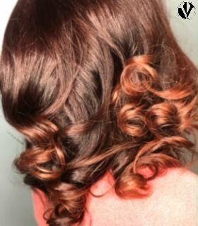 Natural Hair Goals!  #SilkPress #RedHair #NaturalHair #NaturalHairstylist #StraightHair #HealthyHair #HairColor