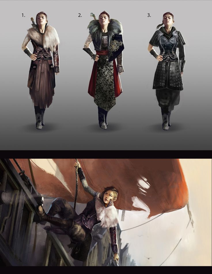 """theqissus: """"My original concept of a Chinese pirate captain. I was inspired by the true story of Ching Shih and her 80,000 sailors (: """""""