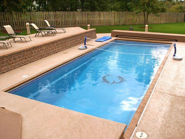 Rectangular Pool Designs Styles Ideas In Dc Md Va Viking Pools Pool Designs Pool