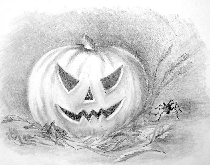 Картинки для срисовки для хэллоуина