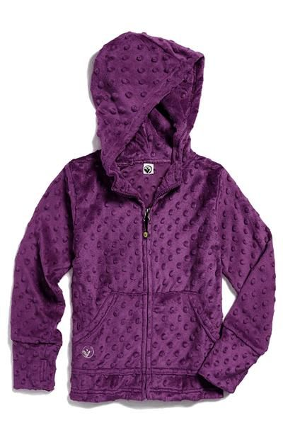 Cuddle Bubble Hoodie-Dark Purple
