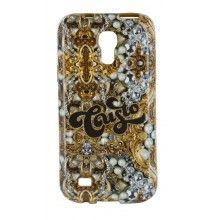 Forro Samsung Galaxy S4 Mini Custo TPU Azul  $ 49.404,58
