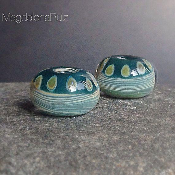 lampwork beads bead earrings glass beads pearl earrings beaded earrings seed bead earrings