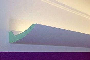 Stuckleisten für indirekte LED Beleuchtung - DBKL-125-PR