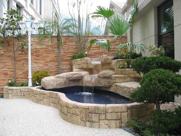 22 best images about foyer on pinterest waterfalls for Indoor pond design