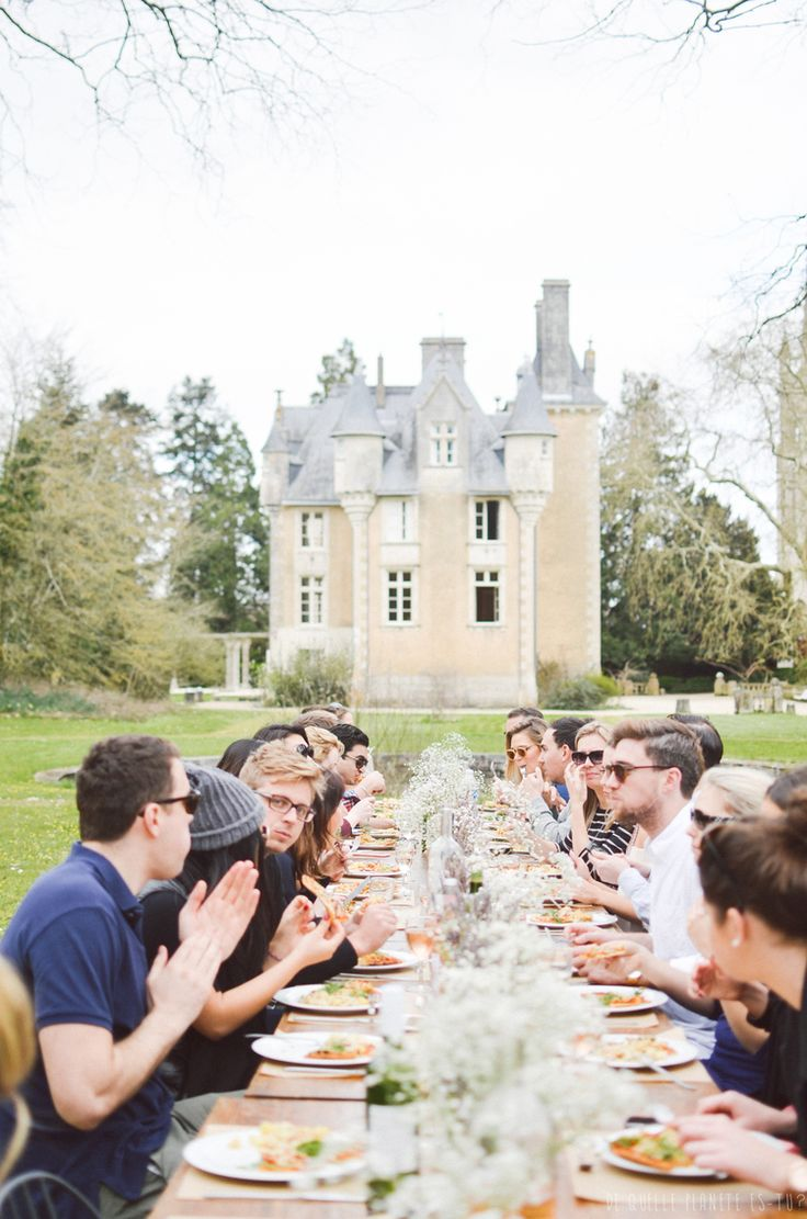 A lovely afternoon.   Weekends you missed — Easter Weekend in a French Château. #france #french #francais #frenchescape #GTWKNDS #travel #wanderlust #world #luxe #luxury #weekend #away #holiday #vacation #adventure #party #food #wine #events