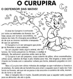ESPAÇO EDUCAR: A Lenda do Curupira!                              …