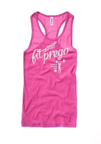 Fit  Prego CrossFit Women's Pregnancy Tank by LevelOneApparel, $25.00