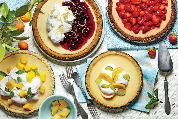 Chilled Summer Pies