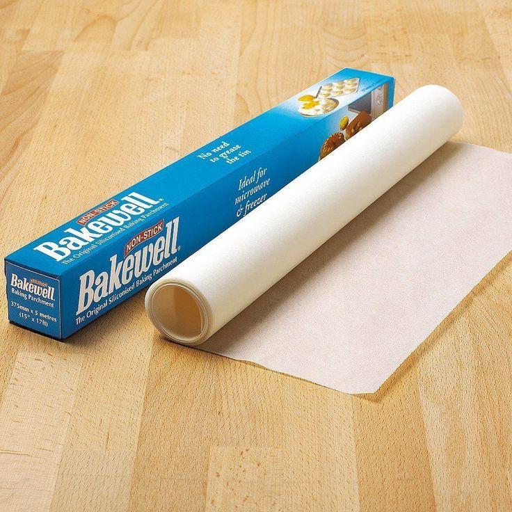 5m x 37.5cm Bakewell Non Stick Baking Paper Parchment Brand New Unused BNIB