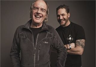 Tom Hardy with his Dad