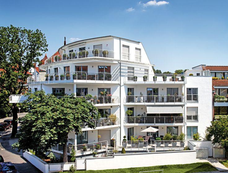 Residential building with acrylcolor surface windows #patios #balconies #maritimeflair